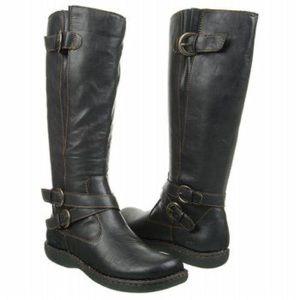 b.o.c. Cybele Black Riding Boots Tall Moto 10